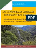 10 Principales Centrales Hidroeléctricas Del Perú