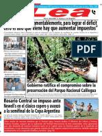 Periódico Lea Viernes 02 de Noviembre Del 2018