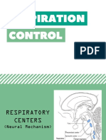 Respiration Control