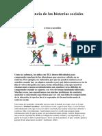 La Importancia de Las Historias Sociales en El TEA