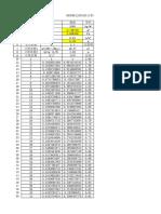 围堰竖肋布置和横隔板间距计算