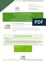 Araya Fact Sheet