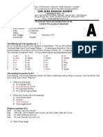 Contoh Soal PTS Kelas X