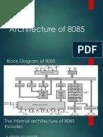 1-Architecture of 8085