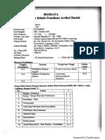 Contoh Biodata Fasilitator Klinik Penulisa Jurnal