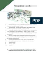 Proceso de fabricación del cemento.doc