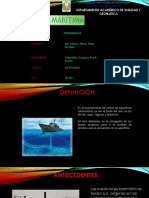 Batimetria Maritima - Frank Cabanillas