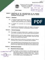 Code of Ethics Customs