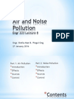 Engr 223 Lecture 8 Air and Noise Pollution