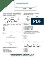 Simulado_atividade 40 de Matemática Para 6º Ano