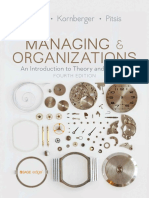 Managing and Organizations - an Introduction to T (4)