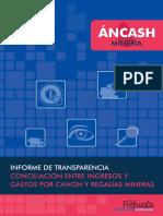 ÁncashMineria InformeTransparencia Canon Regalías