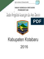 Laporan Kinerja BPKAD 2016