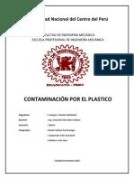 Contaminacion Por El Plastico