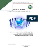 Antología de PyO Del T 2018