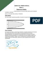 Guía de estudio sobre hidráulica