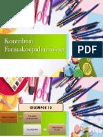Kontribusi Farmakoepidemiologi dalam bidang kesehatan