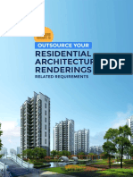 Reason to Outsource Residential Architectural Rendering