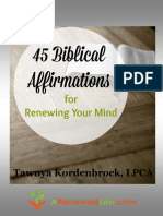 Biblical Affirmations Giveaway New Cover