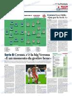 La Provincia Di Cremona 02-11-2018 - Serie B