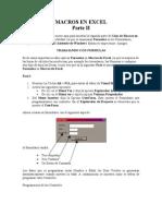 Guia Macros de Excel II