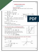 Derivations Class 12 Physics(IMPORTANT)