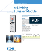 Current Limiting Mccb Module Series G JG CL Pa01213002e