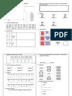 Evaluación Bimestral de Matemática