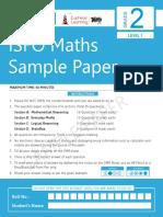 372196923 ISFO Sample Paper Math 2