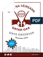 Oryx Observer - November