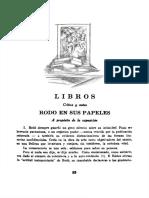 Rodó en Sus Papeles - Carlos Real de Azúa