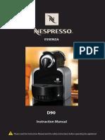 Nespresso-Essenza-D90