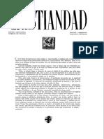 REVISTA CRISTIANDAD - Número de Prueba - 1944