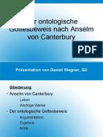 Anselm Von Canterbury
