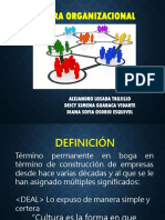 Cultura Organizacional Emilio Pablo DIez de Castro