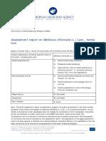 2017 Assessment Report on Melilotus Officinalis (L.) Lam., Herba