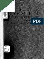 E. Bethe, Homer. Dichtung Und Sage, II 2, 2. Aufl., Leipzig und Berlin 1929