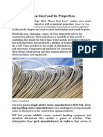 Learn about steel and its properties - From SGF Fab Industries