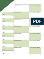 Practice Time Sheet