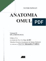 (2008) Victor Papilian-Anatomia Omului. 2 Splanhnologia-BIC ALL (2001)