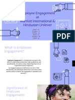 Employee engagement - Hotel Industry