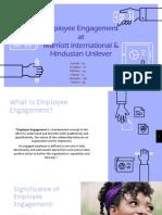 Employee engagement - Hotel Industry