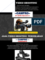 [DISTRIBUTOR] Jasa Video Shooting Purwokerto, 0821 3543 9895