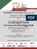 Locandina Concerto 20 Luglio 2018_GIANDETO