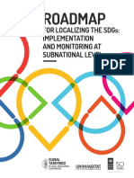 Roadmap for Localizing the SDGs