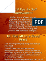 Top 10 Tips for Self-Improvement