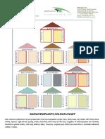 Snowcempaint Colour Chart- 130711
