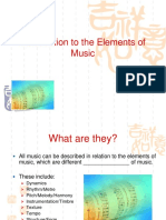Elements of Music Powerpoint