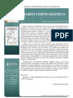 Cervicogenic Dizziness Spanish