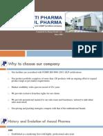 Aescul Pharma Company Profile
